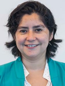 María Olga Faúndez : Jefe de Subdirección de Infraestructura