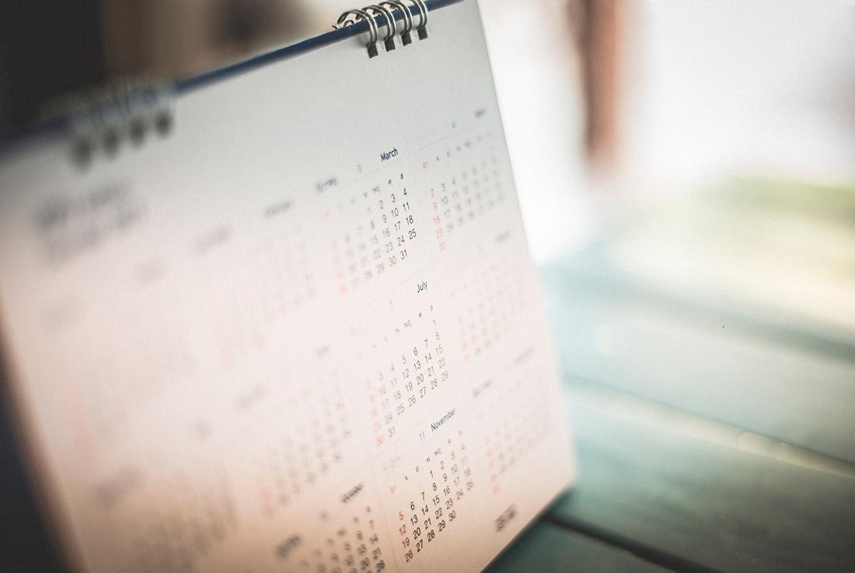 Calendario DEG